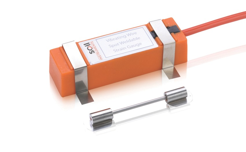 Vibrating Wire Spot Weldable Strain Gauge